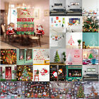 Christmas Wall Sticker Living Room Glass Removable PVC Decal Xmas Home Decor $6.63 USD on eBay