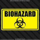 Biohazard Sticker Toxic Chemical Vinyl Decal Car Window Safety Caution Warning