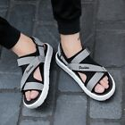 Mens Roman Sports Summer Beach Sandals Casual Slingback Running Shoes Slippers