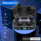wireless bluetooth v5 0 headset stereo bass earbuds for iphone sony android ios
