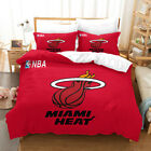 3D Miami Heat Red Quilt Cover Set Bedding Duvet Cover Double/Queen/King 3pcs 135 on eBay