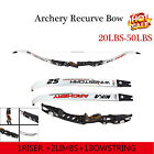 20-40Ibs Hunting Recurve Bow Right Hand Archery Takedown Laminated Limbs Longbow