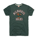 Milwaukee Bucks logo vtg retro '68 NBA basketball homage t-shirt men's on eBay