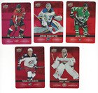 2019-20 Tim Hortons Hockey Red Die-Cut Parallel Pick From List
