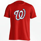 Washington Nationals MLB T-Shirt - Grunge Design Shirt - S-5XL