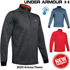 UNDER ARMOUR GOLF FLEECE MENS GOLF FLEECE PULLOVER 1/2 ZIP GOLF SWEATER NEW 2020