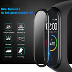 5Pcs 3D Full Cover Tempered Glass Screen Protector film For Xiaomi Mi Band 4