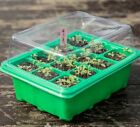 Garden Plant Germination Kit 5 Sets Seed Trays Plastic Humidity Dome And Base