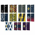 OFFICIAL SCOTLAND NATIONAL TEAM LOGO 2 LEATHER BOOK WALLET CASE FOR HTC PHONES 1