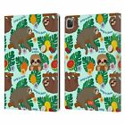 OFFICIAL emoji® SLOTH LEATHER BOOK WALLET CASE FOR APPLE iPAD