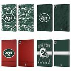 OFFICIAL NFL 2018/19 NEW YORK JETS LOGO LEATHER BOOK CASE FOR APPLE iPAD $29.95 USD on eBay