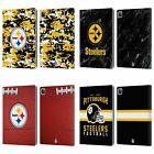 OFFICIAL NFL 2018/19 PITTSBURGH STEELERS LEATHER BOOK CASE FOR APPLE iPAD $15.95 USD on eBay