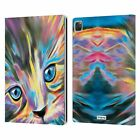 OFFICIAL P.D. MORENO CATS LEATHER BOOK WALLET CASE FOR APPLE iPAD