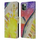 LAUREN MOSS AGATES & CRYSTALS LEATHER BOOK CASE FOR APPLE iPHONE PHONES