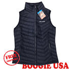 Columbia Women's NWT Powder Lite Vest Jacket Navy SMALL MSRP $110