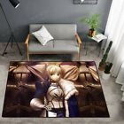 Fate/Stay Night Joan of Arc Carpet Floor Mat Home Anti-skid Area Rugs Rectangle