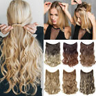 hidden halos secret wire in as human hair extensions one piece straight curly us