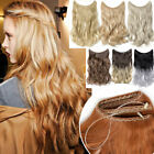 100 real thick hidden hidden wire in as human hair extensions one piece us sale