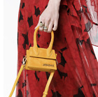 JACQUEMUS Le Chiquito Style Mini J Handbag Big Handle Strap