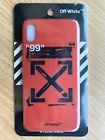 Off White Arrows Phone Case iPhone 7/8/8 Plus/X/XS/Max One-Piece Protective Red