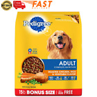 Pedigree Adult Dry Dog Food Roasted Chicken Rice  Vegetable Flavor