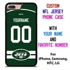 NEW YORK JETS JERSEY NFL Custom Phone Case Cover for iPhone Samsung Galaxy $15.9 USD on eBay