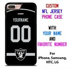OAKLAND RAIDERS JERSEY NFL Custom Phone Case for iPhone Samsung Galaxy $15.9 USD on eBay