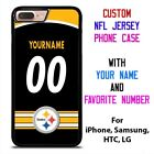 PITTSBURGH STEELERS JERSEY NFL Custom Phone Case Cover for iPhone Samsung Galaxy $15.9 USD on eBay