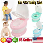 Toddler Toilet Chair Kids Potty Training Seat Stool for Child Boys Girls new image