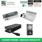 Hydroponics Lighting Kit Dimmable Ballast 600w HPS Heavy Duty Timer Indoor Grow