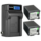 Kastar Battery LCD Wall Charger for Canon BP-820 820 Canon BP-828 BP828 Battery