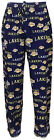 Los Angeles Lakers Mens Purple Fairway Pajama Pants