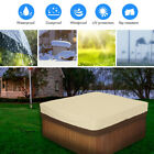 Outdoor Square Case Oxford Fabric Hot Tub Spa Cover Dust Garden Protector CA