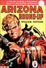 Arizona Round-Up Western Pulp Book Cover Poster Print Vintage Retro Style