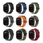 20mm Premium Soft Nylon Watch Band Strap with Metal Buckle For Huami Amazfit GTS