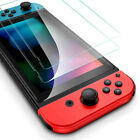 For Nintendo Switch Premium Tempered Ultra Clear Glass Screen Protector 1-2 Pack