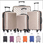 Kyпить 3/4/5 Piece Luggage Travel Set ABS Spinner Hardshell Trolley Carry On Suitcase на еВаy.соm