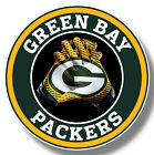 Green Bay Packers Vinyl Sticker Decal 8 Different Size Car Windows NFL football $3.0 USD on eBay
