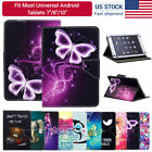 """New For Onn 7"""" 8"""" 10.1"""" inch Tablet Android Tablets Universal Leather Case Cover"""
