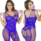 ☆USA☆ Sexy Women Lace Thong G-string Panty Lingerie Underwear Crotchles Fishnet