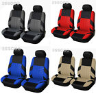 ESSGOO Auto Seat Covers for Car Truck SUV Van Universal Protectors Front Row 2pc $15.88 USD on eBay