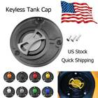 Keyless Gas Fuel Tank Cap Cover For Ducati SuperSport 750 800 900 SS All Year