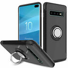 New Samsung Galaxy S10 / S10 Plus Ring Case Kickstand Shockproof Hard Cover