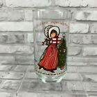 Vintage Holly Hobbie Christmas Glasses Coca Cola Various Styles $6.99  on eBay