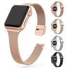 Magnetic Milanese Slim Band Strap For Apple Watch Series 5 4 3 2 44/40mm 42/38mm image