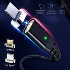 2.4A Quick Charger 3.0 Magnetic Cable For iPhone XS XR X 7 6 Fast Micro USBCable
