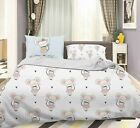 3D Mouse White Quilt Cover Duvet Cover Comforter Cover Single/Queen/King 3pcs 2 image
