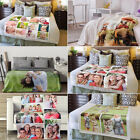 Picture Custom Flannel Fleece Blanket Soft Plush Bed Car Throw Warm Special Gift image