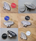 Magnetic golf ball marker with hat clip
