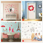 Romantic Love Pvc Home Room Decor Wall Decal Sticker Removable Mural